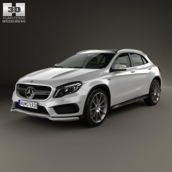 Mercedes-Benz GLA-class 45 AMG 2014