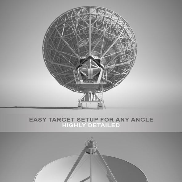 High Detailed Radio Telescope