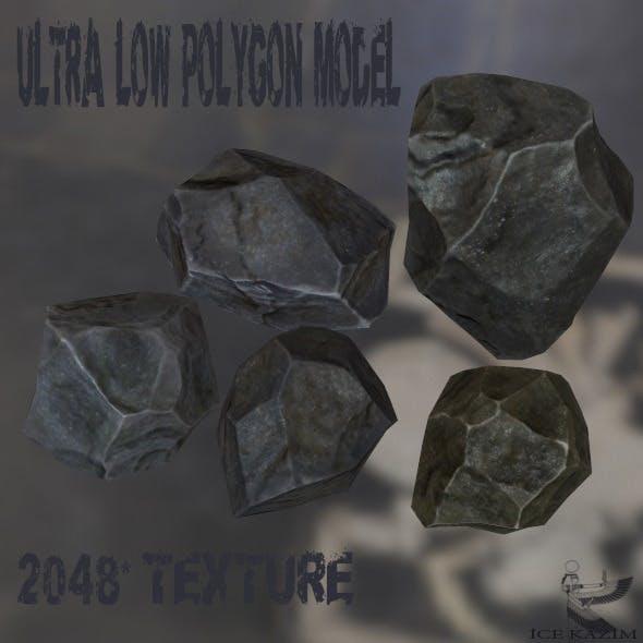 Rock_Set_1 - 3DOcean Item for Sale