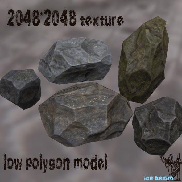 Rock_Set_2 - 3DOcean Item for Sale