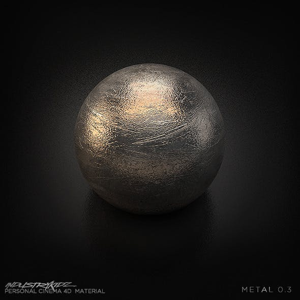 Metal Shader - 3DOcean Item for Sale