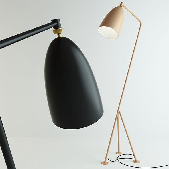Grasshopper Lamp by Gubi - 3DOcean Item for Sale