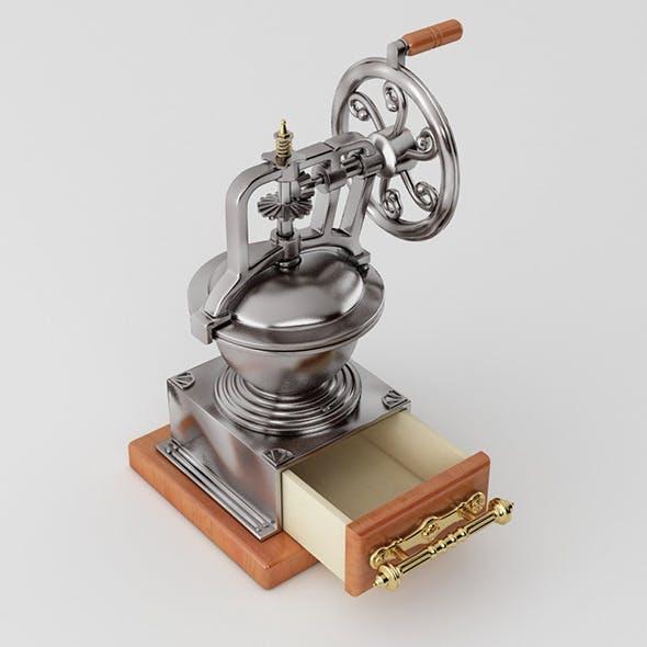 Coffee Bean Roaster - 3DOcean Item for Sale