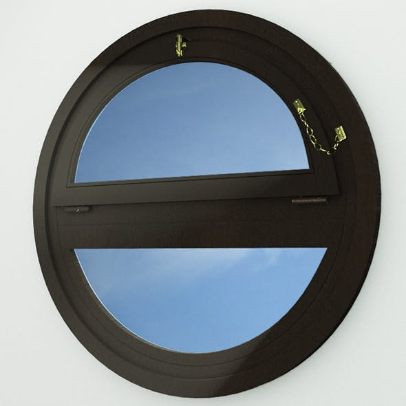 Circular Window  - 3DOcean Item for Sale