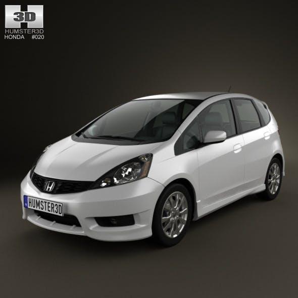 Honda Fit (Jazz) Sport 2012