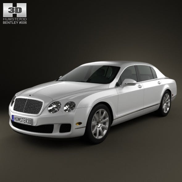 Bentley Continental Flying Spur 2012 - 3DOcean Item for Sale