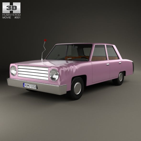 The Simpsons Homer Car 1989 - 3DOcean Item for Sale