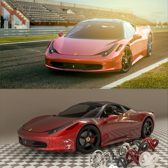 Ferrari 458 Italia 2015 [Madcar and Corona Ready]