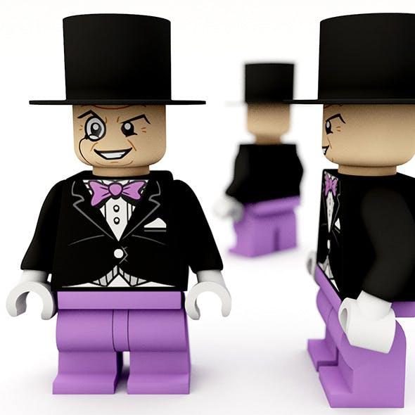 Lego penguin - 3DOcean Item for Sale