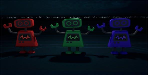 RGB Mecha Robot - 3DOcean Item for Sale