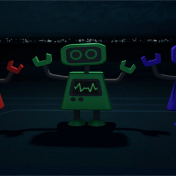 RGB Mecha Robot