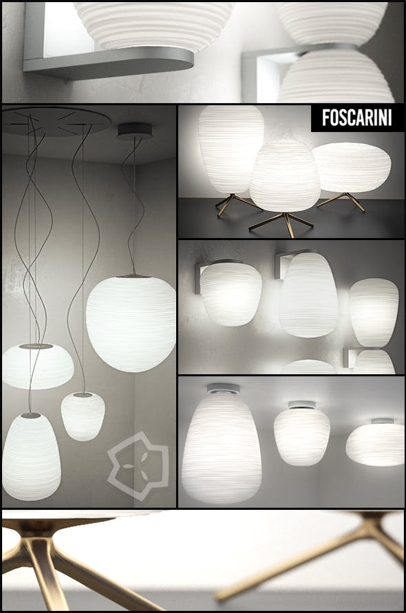RITUALS by Foscarini - Lamps Collection - 3DOcean Item for Sale