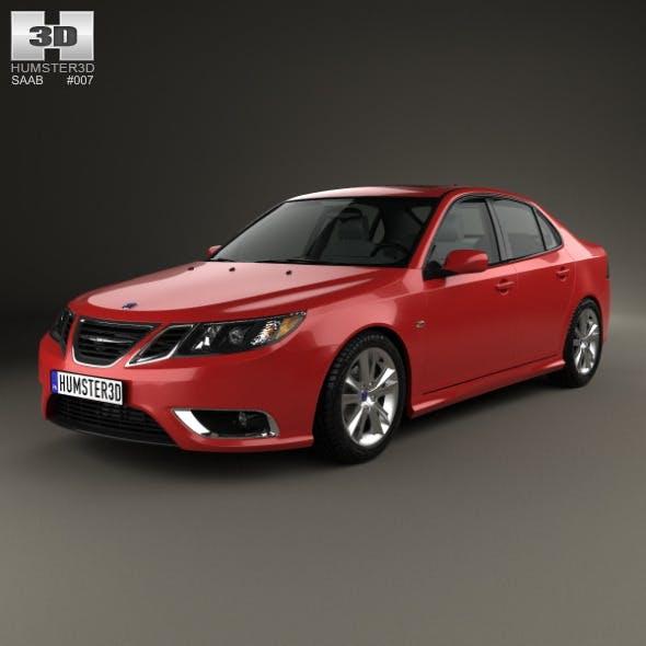 Saab 9-3 Sport Sedan 2008 - 3DOcean Item for Sale