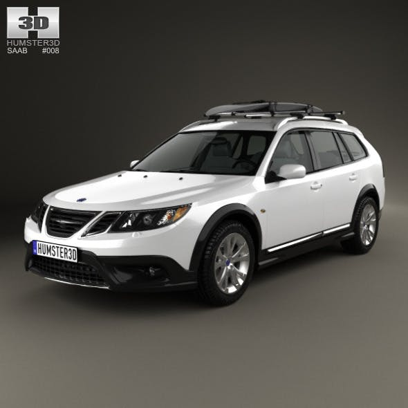 Saab 9-3 X 2009 - 3DOcean Item for Sale