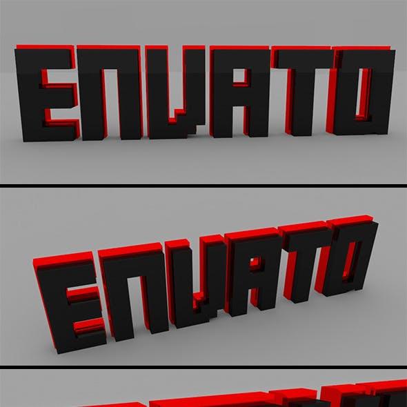 Text 3D Envato