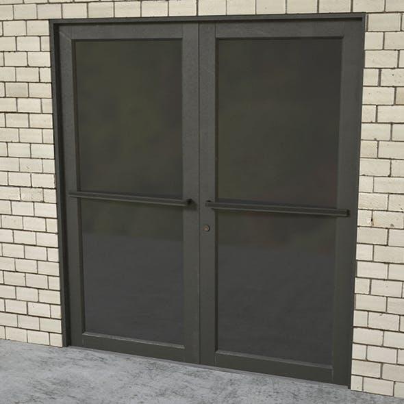 Commercial door entrance - 3DOcean Item for Sale