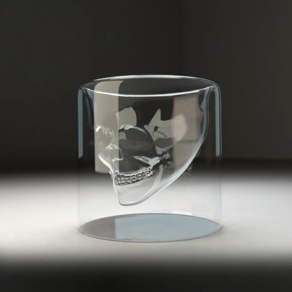 Skull glass v1