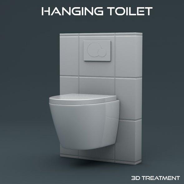 Hanging Toilet - 3DOcean Item for Sale