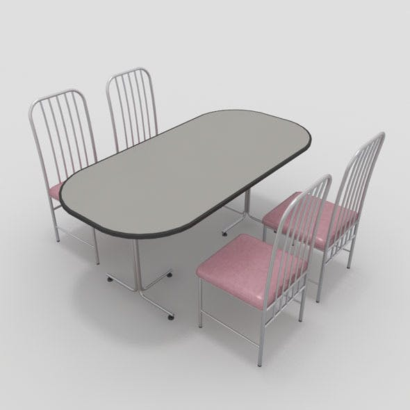 Table with Chairs-5