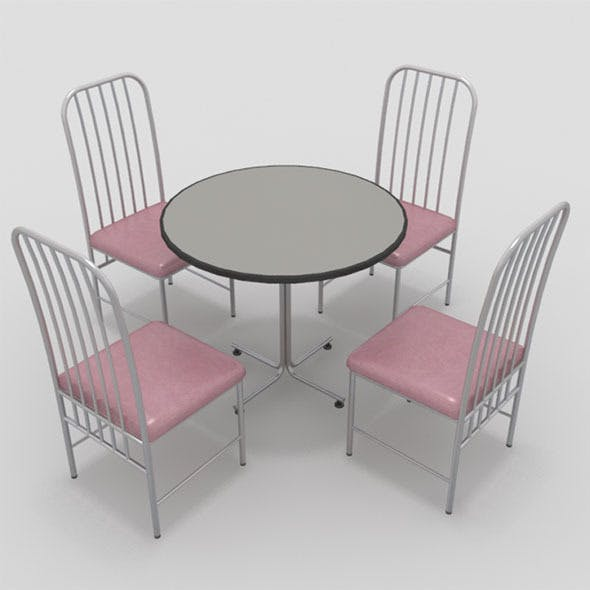 Table with Chairs-6