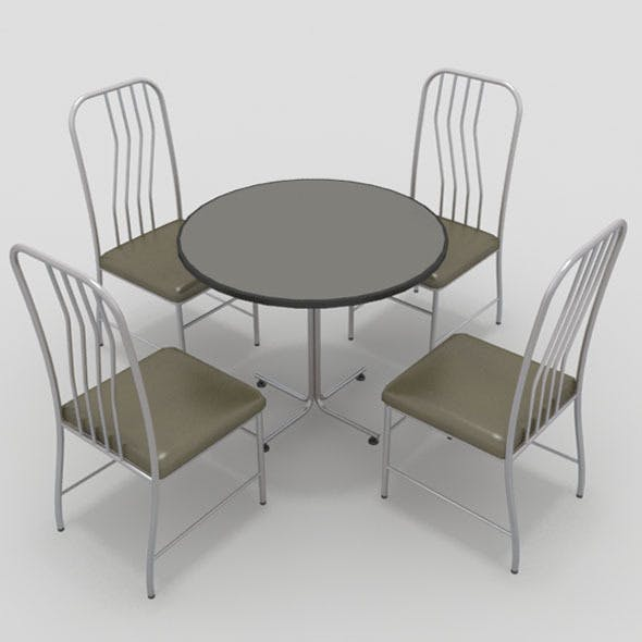 Table with Chairs-8