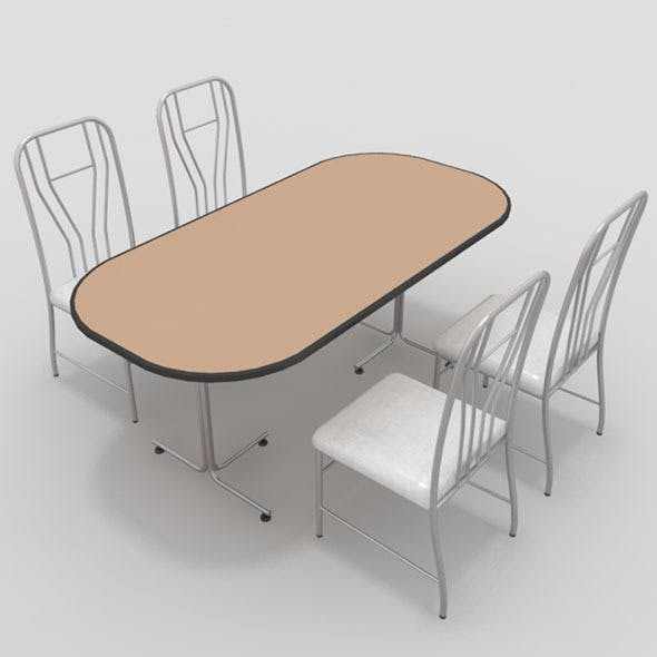 Table with Chairs-9