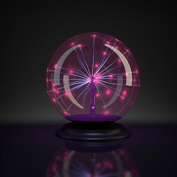 Plasma ball - 3DOcean Item for Sale