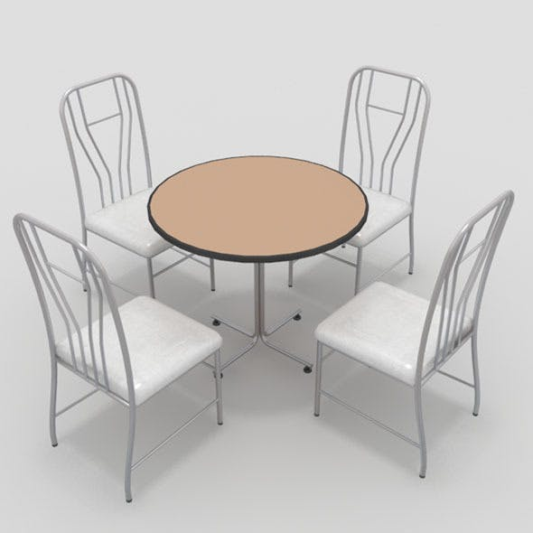 Table with Chairs-10