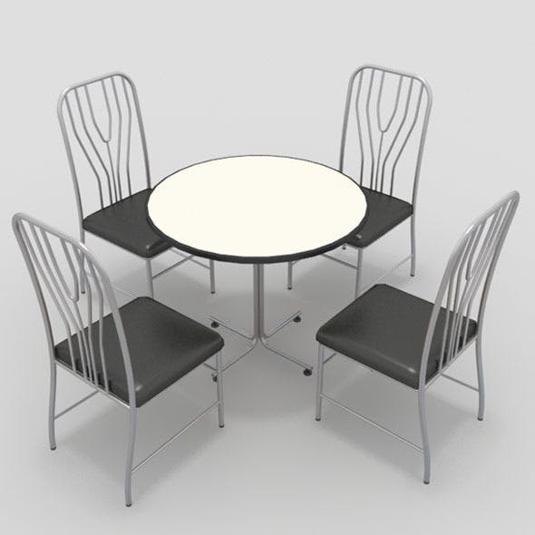 Table with Chairs-12