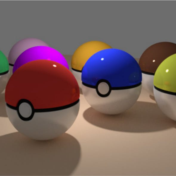 Pokeball + More Colors