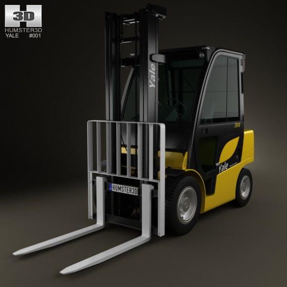 Yale GDP 35VX Forklift 2012 - 3DOcean Item for Sale