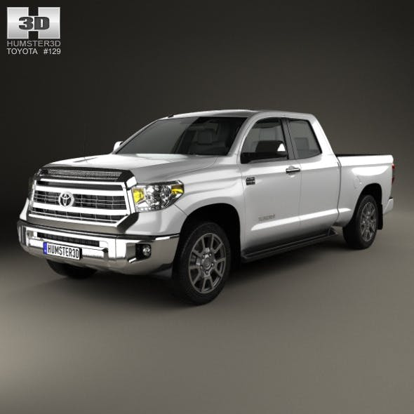 Toyota Tundra Double Cab 2013 - 3DOcean Item for Sale