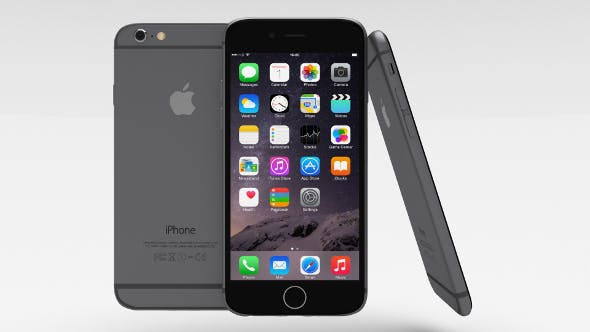 iPhone 6 Space Grey - 3DOcean Item for Sale