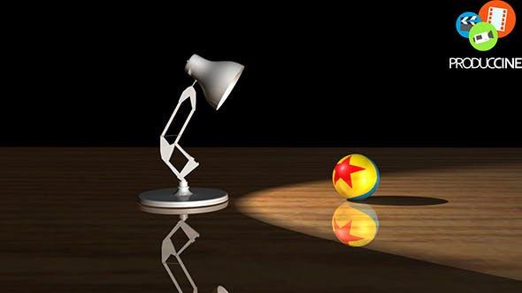 Pixar Luxo Jr - 3D Lamp Model - 3DOcean Item for Sale