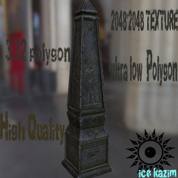 Pillar - 3DOcean Item for Sale