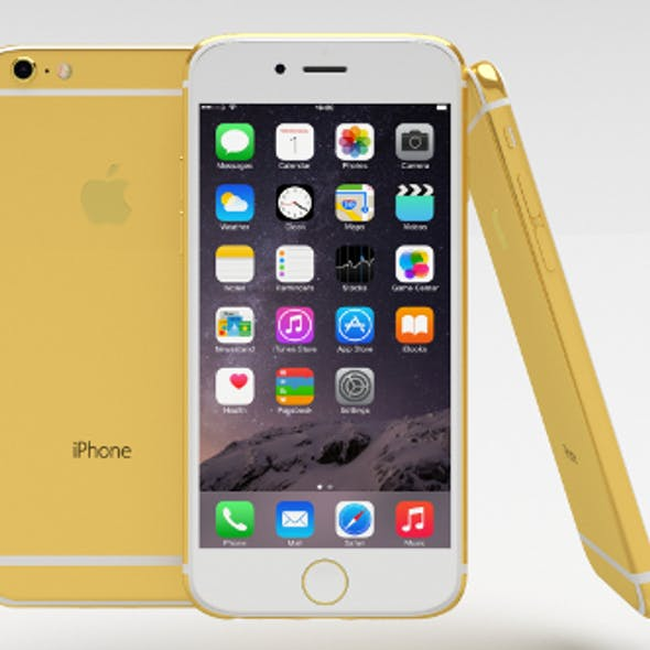 iPhone 6 Gold Plated