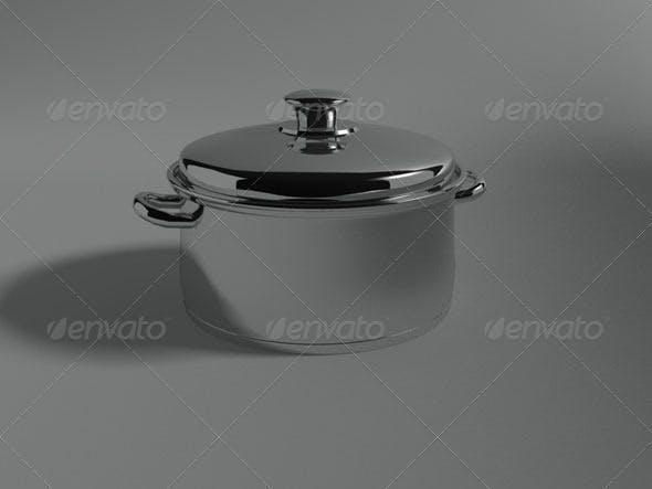 Pot - 3DOcean Item for Sale