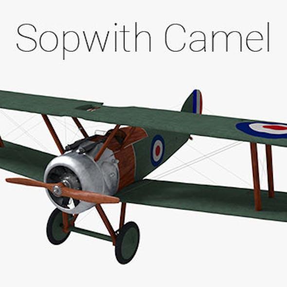 Sopwith Camel Biplane