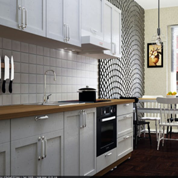Realistic Kitchen