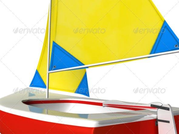 Sailboat - 3DOcean Item for Sale