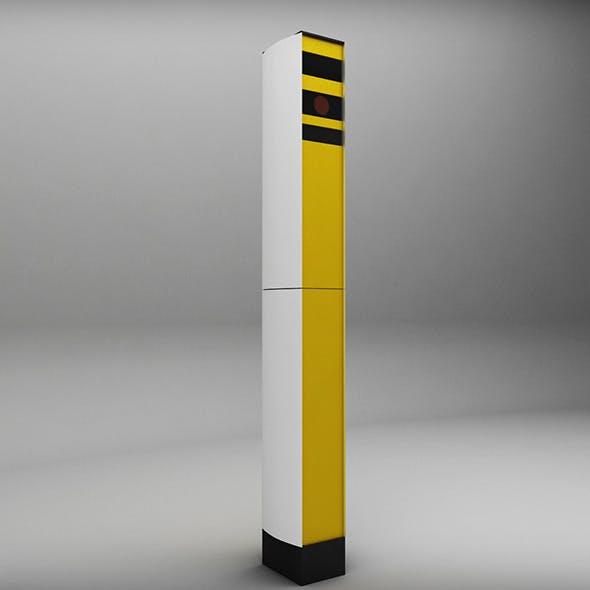 Speed camera radar - 3DOcean Item for Sale