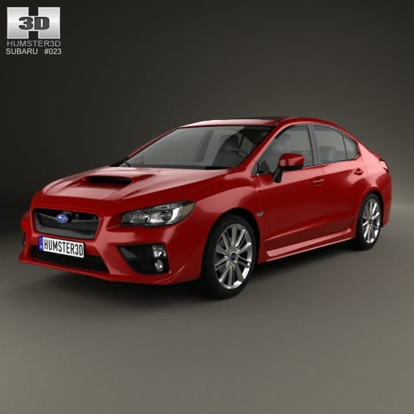 Subaru WRX 2014 - 3DOcean Item for Sale
