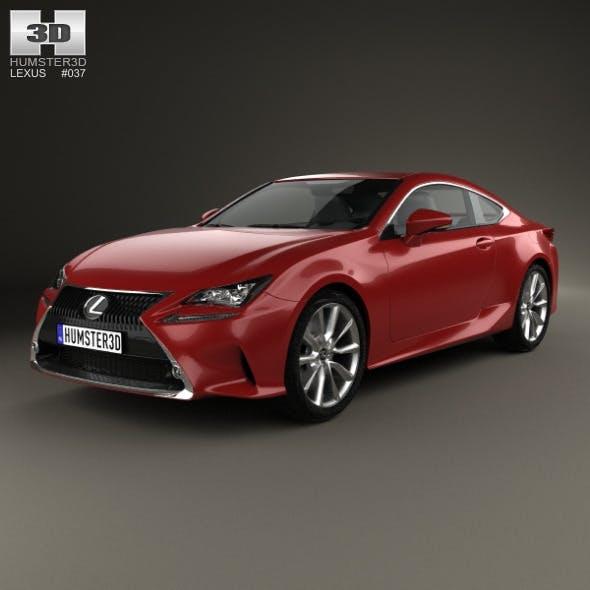 Lexus RC 2014 - 3DOcean Item for Sale