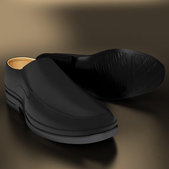 Classic Black Shoe - 3DOcean Item for Sale