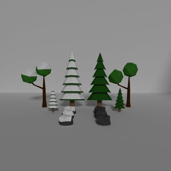 Forest Asset - 3DOcean Item for Sale