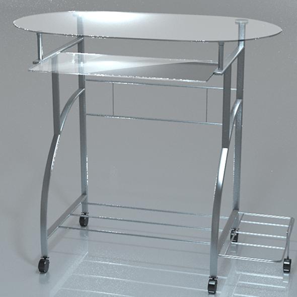 PC Desk Glass