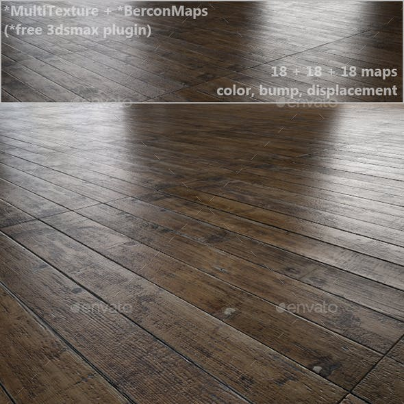 Antique oak parquet - MultiTexture
