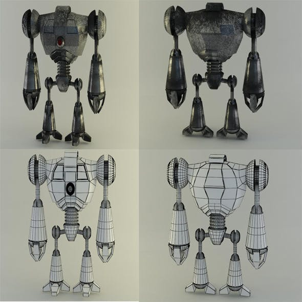 robot1 - 3DOcean Item for Sale