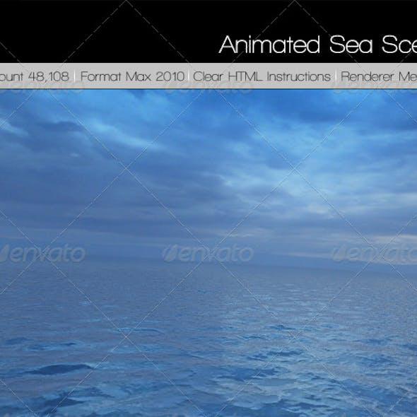 Sea scene Amazing sea material