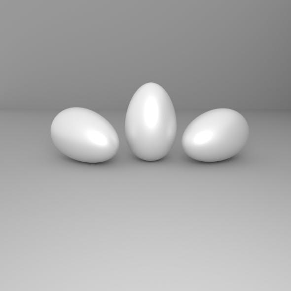 3D Eggs - 3DOcean Item for Sale